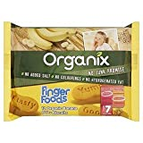 Organix Finger Foods 12 Organic Banana Baby Biscuits Stage 2 From 7+ Mths 100G