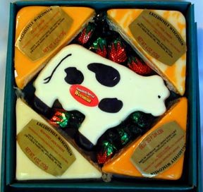 Wisconsin Cheddar Cheese Sampler Gift Box