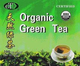 Goto Tea Organic Green Tea (100 Tea Bags)