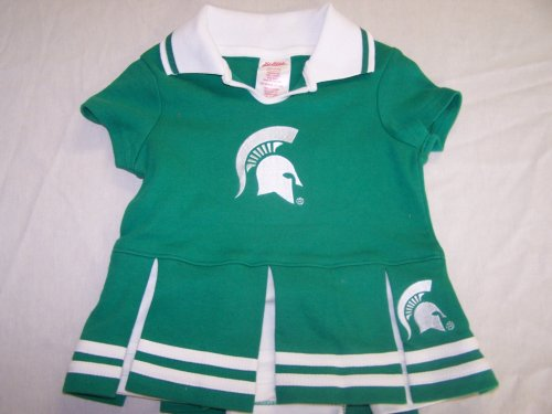 Michigan State Spartans Baby Cheerleader Dress - Buy Michigan State Spartans Baby Cheerleader Dress - Purchase Michigan State Spartans Baby Cheerleader Dress (Kid Athlete, Kid Athlete Apparel, Kid Athlete Toddler Girls Apparel, Apparel, Departments, Kids & Baby, Infants & Toddlers, Girls, Skirts, Dresses & Jumpers, Dresses)