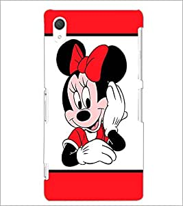 PrintDhaba Minnie Mouse D-1985 Back Case Cover for SONY XPERIA Z3 (Multi-Coloured)