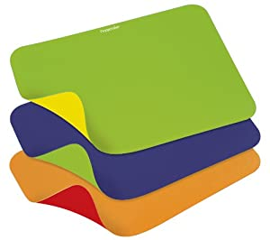 Progressive International Reversible Flexible Chopping Mat, Set of 3