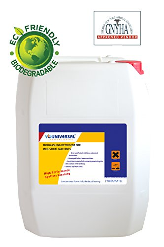 Lybramatic Industrial Grade Commercial Dishwasher Detergent 5 Gal (Commercial Dish Washer Detergent compare prices)