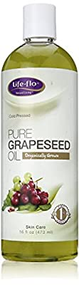 Life-Flo Coldpressed Grapeseed Oil - Pure - Organic - 16 oz