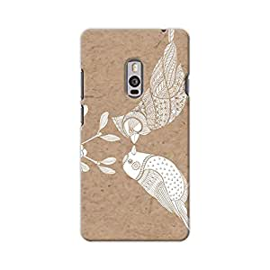 ArtzFolio Birds And Mistletoe : OnePlus 2 Matte Polycarbonate ORIGINAL BRANDED Mobile Cell Phone Protective BACK CASE COVER Protector : BEST DESIGNER Hard Shockproof Scratch-Proof Accessories