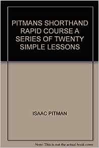 download pitman shorthand book pdf