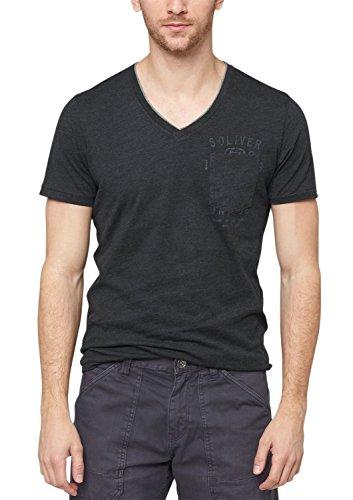 s.Oliver Herren T-Shirt Single Jersey 13.506.32.2450,