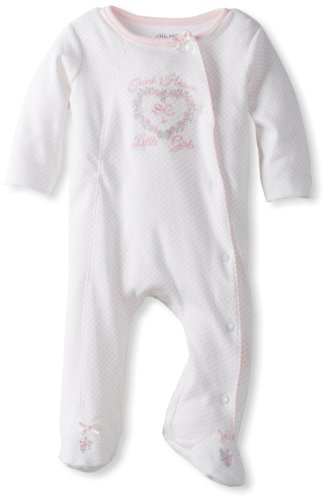 9 Month Little Me Baby 2 Pack Footies Giraffe