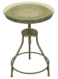 Amazoncom Oil Rubbed Bronze Metal Accent Table with
