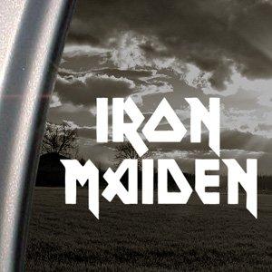 Adesivo per finestrino degli Iron Maiden