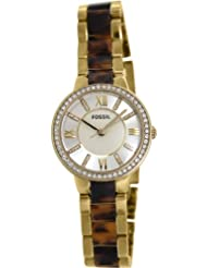 Fossil Analog Silver Dial Women's Watch - ES3314