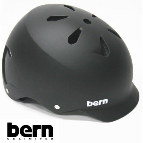 bern(バーン) bern ヘルメット WATTS オールシーズンモデル Matte Black ジャパンフィット ワッツ 自転車 BMX スケボーヘルメット バーン ヘルメット XXL(60.5-62cm)