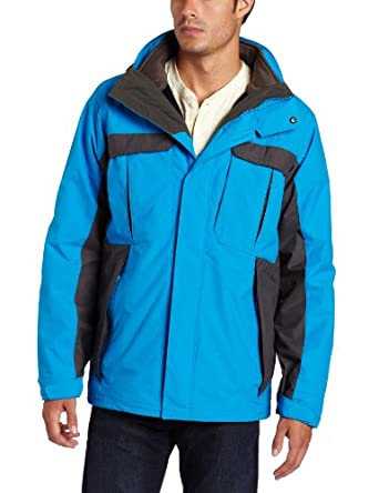 Columbia Men's Rare Earth Parka, Compass Blue, X-Large