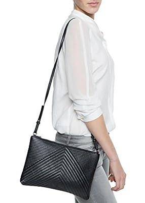 Lovelyu Femmes en cuir sacs à main épaule petit sac besace embrayage