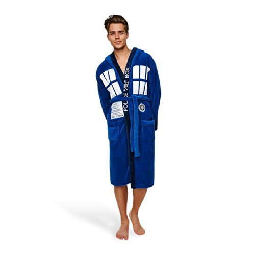 Doctor Who Tardis Adult Dressing Gown