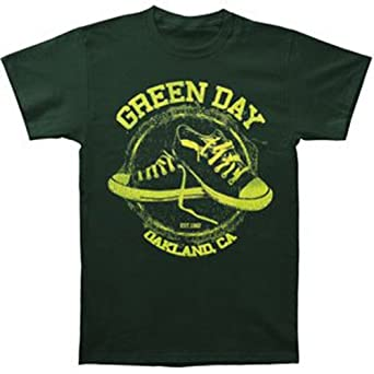 Green Day All-Star Green T-shirt Small