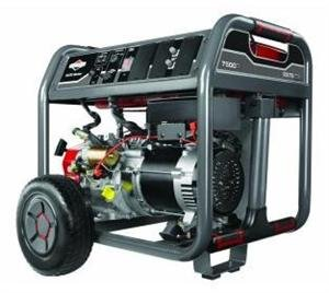 Briggs & Stratton 30552 Elite Series 7500-Watt Gas Powered Portable Generator With 2100 Series Ohv 420Cc Engine And Never Go Flat Wheels