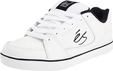 eS Men's Slant Skate Shoe,White/Navy,15 D US