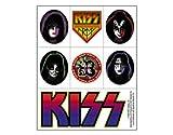 Kiss - Sticker Sheet -5.5x4 Inch