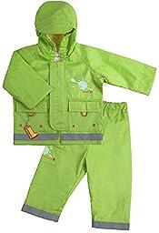 Splish Splash Rain Jacket Green (24-36 mo)