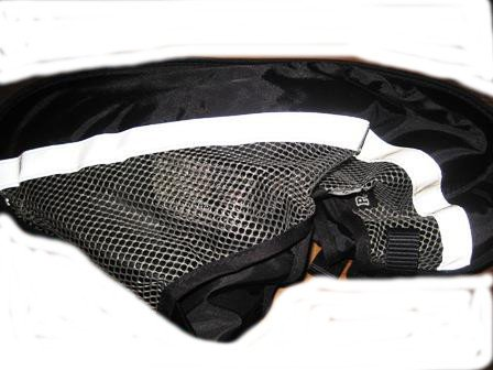 Peg Perego String Bag for Pilko P 3 Pushchair Black for 2003 - 2010 Models