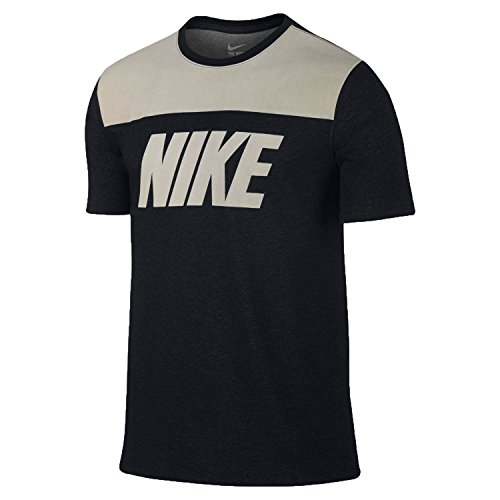 Nike Men's Field General Dual Threat T-Shirt XXX-Large Black Charcoal