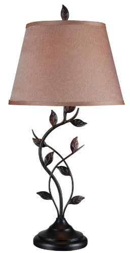 Kenroy Home 32239ORB Ashlen Table Lamp, Oil Rubbed Bronze Finish (Entry Table Lamp compare prices)