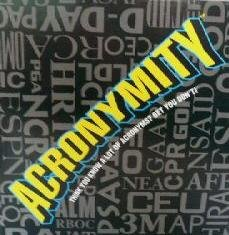 Acronymity the Game of Acronyms - Buy Acronymity the Game of Acronyms - Purchase Acronymity the Game of Acronyms (Acronymity, Toys & Games,Categories,Games,Board Games,Word Games)