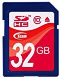 Team SDHCカード 32GB Class 10 ECOパッケージ 10年保証 TASD32GBC10E