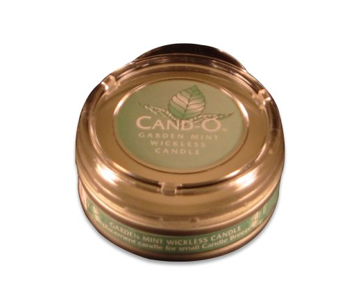 Candle Breeze Large Cand-o Garden Mint Scented Candle