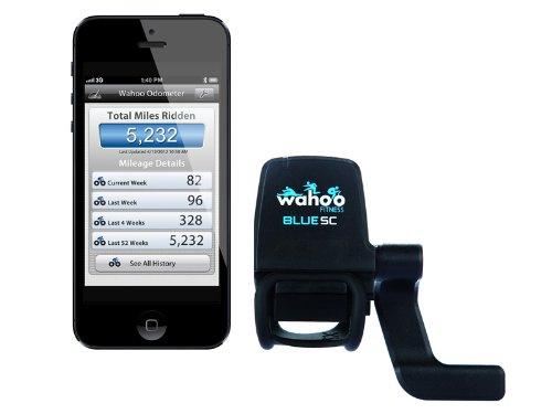 【日本正規代理店品】Wahoo Fitness スピード・ケイデンスセンサー Blue SC for iPhone (Bluetooth SMART/Bluetooth 4.0対応) WAF-PH-000002