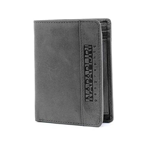 NAPAPIJRI Tyin Vertical Wallet Coinpocket Grey