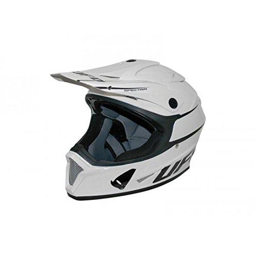 VISIERE BLANCHE DE CASQUE UFO BASE - 43350726 - Visière de casque moto UFO - pi