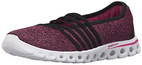K-Swiss Women's X Lite MJ CMF Black/Very Berry Textile Sneaker 8.5 B (M)