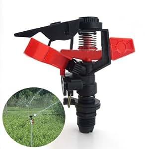 Angolo di plastica controllabile ugello rotante for Irrigazione prato fai da te