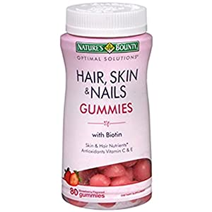 Nature's Bounty Optimal Solutions Hair, Skin and Nails Gummies, 460 Count , Bounty-g8