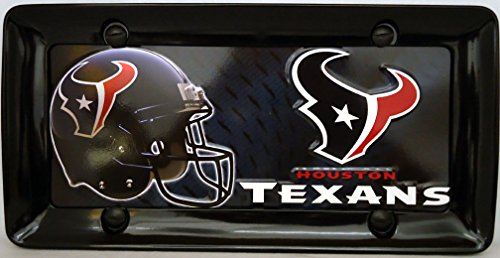 1, Houston Texans , Metal Sign, in a, Black Metal Border,,15B1.6&27A5.2