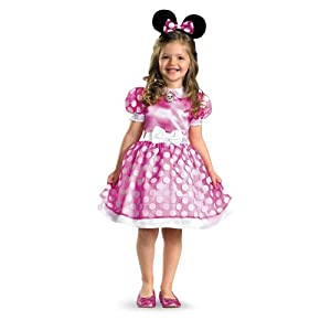 Minnie Mouse Clubhouse Classic Toddler Costume - M (3T-4T)