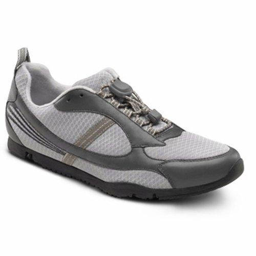 Dr. Comfort Gary Flex-Oa Men'S Shoe For Knee Pain - Osteoarthritis Oa: Grey 11 Medium/Wide (D-E) Lace
