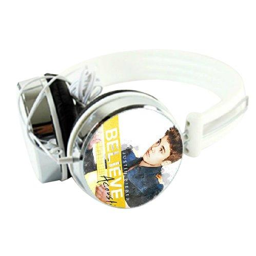 Justin Bieber Believe Acoustic Birthday Souvenir Stereo Multi-Device Headphones