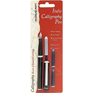 Manuscript mc1605 italic calligraphy pen set Calligraphy pen amazon