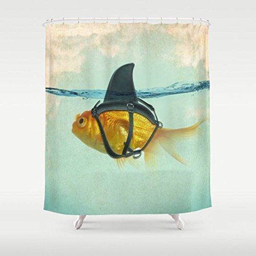 "Scocici Designs Bathroom Shower Curtains Stylish,Decorative,Unique,Cool,Fun,Funky(Size 72""(w) x 72""(h) )"