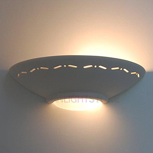 romantica-applique-lampada-da-parete-decorabile-in-ceramica-gesso-colorabile-verniciabile-linea-cera