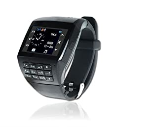 Q8 Dual Sim Card Dual Standby Watch Cell Phone Mobile Quad Band Touch Screen Mp3/4 with Keypad by Victor