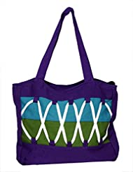 Ethnic Cotton Canvas Handcrafted Eco-friendly Boho Hippie Indian Shoulder Bag