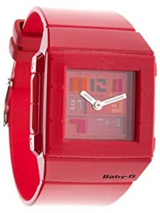 Casio Baby-G Damen-Armbanduhr rot Anaolg/ Digital Quarz BGA-200PD-4BER