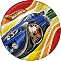 "Hot Wheels Fast Action 7"" Dessert Plates - 8 Count"