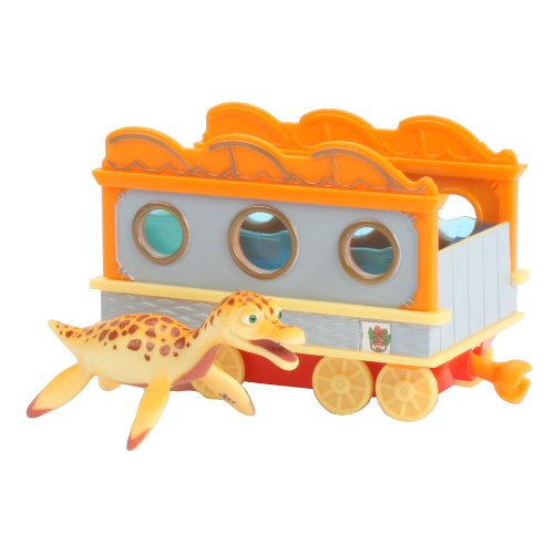 Learning Curve Dinosaur Train Collectible Dinosaur With Train Car: My Friends Can Swim: Paulie - 1
