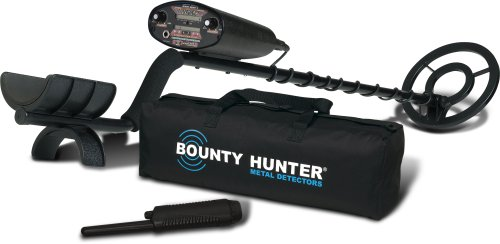 Bounty Hunter QD2GWP Quick Draw II Metal Detector with Pinpointer and Carry Bag