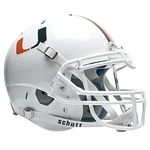 NCAA Miami Hurricanes Authentic XP Football Helmet by Schutt